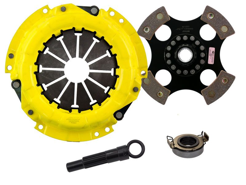 2003-2005 Toyota Matrix 1.8L 4-CYL ACT Clutch Kit HD/Race Rigid 4 Pad Kit - TC2-HDR4 - Advanced Clutch