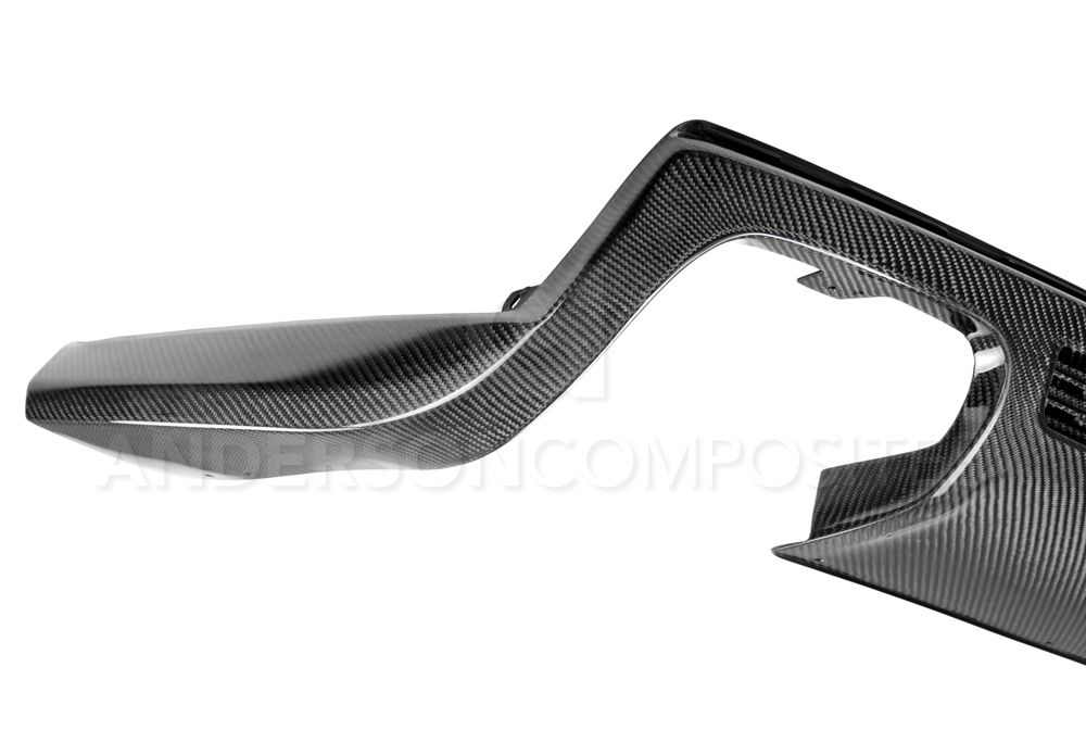2012-2013 Chevy Camaro ZL1 Type-ZL Carbon Fiber Rear Diffuser by Anderson Composites