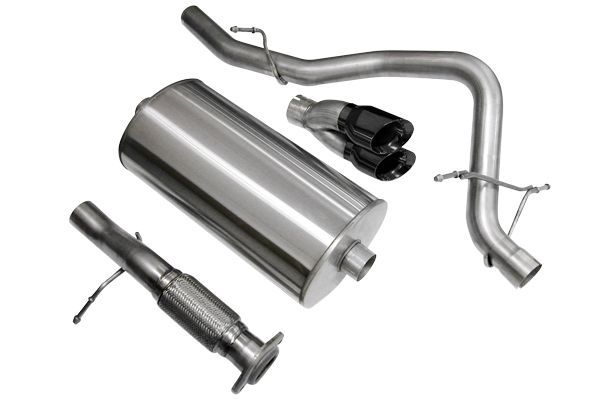 2007-2008 Chevy Tahoe 5.3L V8 Corsa Performance Cat-Back Exhaust System - 14207B