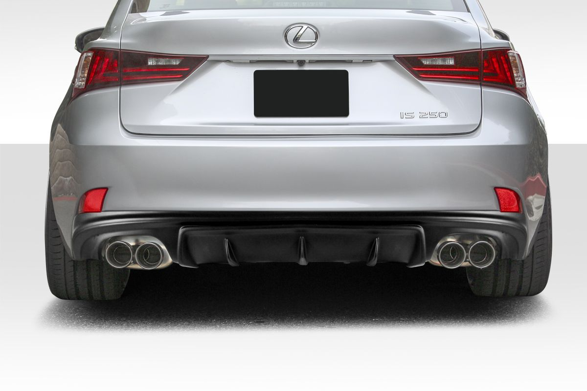 2014-2016 Lexus IS Series IS350 IS250 Duraflex AM Design Style Rear Diffuser 1PC (F Sport Models only) - 112769
