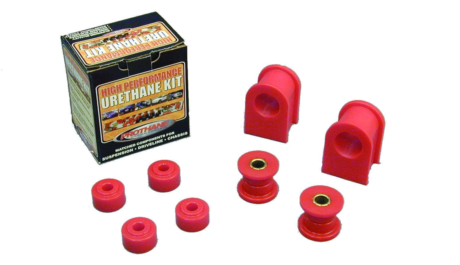 1997 Ford F-150 RWD Front Sway Bar Bushing Red Prothane - 6-1103