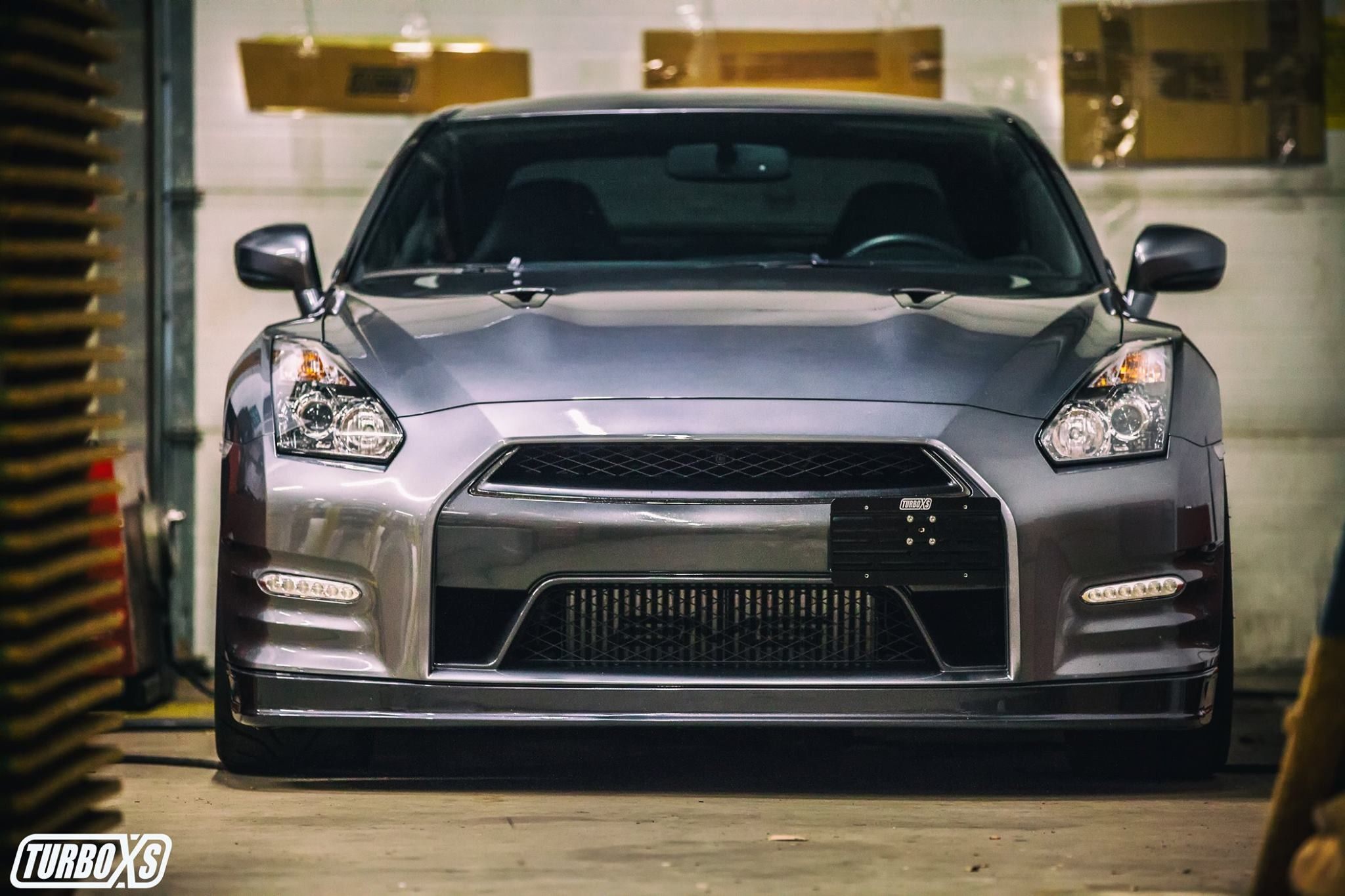 TurboXS TowTag License Plate Relocation Kit for 2009-2019 Nissan GT-R Premium