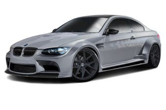 2008-2013 BMW M3 E92 2DR Coupe AF-5 Wide Body Body Kit (GFK) 9PC - 113112