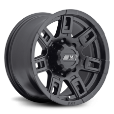 Sidebiter II 22X12 with 6X135/6X5.50 Bolt Pattern 4.750 Back Space Satin Black Mickey Thompson - 90000030364
