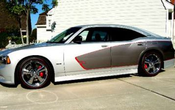 2005-2010 Dodge Charger RKS Urethane Heritage Edition Ground Effects Pack