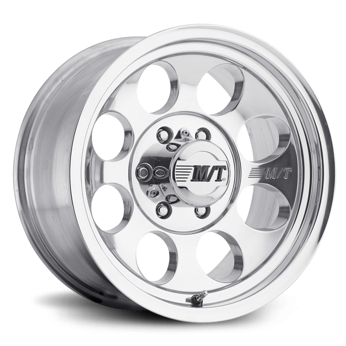 Classic III 17X9 with 5X5.00 Bolt Pattern 4.500 Back Space Polished Mickey Thompson - 90000001781
