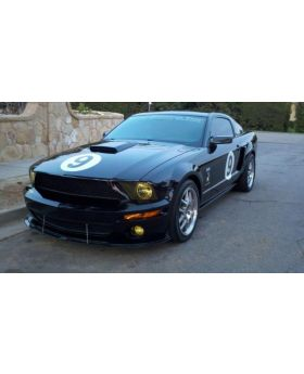 2007-2009 Ford Mustang Shelby GT500 APR Carbon Fiber Front Splitter With Rods