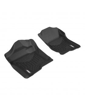 2007-2013 Chevy Silverado 3500 Aries Black StyleGuard XD Floor Liners HD WT/Extended Cab Pickup - CH04711809