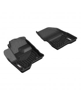 2013-2016 Ford Flex Aries Black StyleGuard XD Floor Liners Limited/SE/SEL - FR02111809