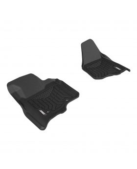 2011-2012 Ford F-450 Aries Black StyleGuard XD Floor Liners XLT/Crew Cab Pickup - FR07011809