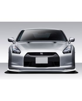 2009-2011 Nissan GT-R R35 Eros Version 5 Front Lip Under Spoiler Air Dam - 1PC -