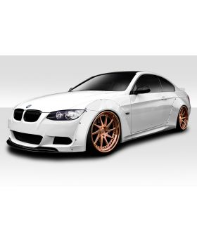 2007-2013 BMW 3 Series E92 2dr E93 Convertible Duraflex Circuit Wide Body Front Kit 8PC (fits all models except M3) - 113827