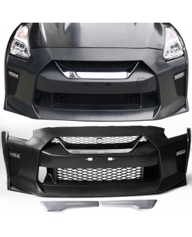 2009-2018 Nissan GTR R35 OE Factory Front Bumper Cover Replacement - BKP-NGTR17OE-F