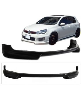 2009-2011 VW Golf 6 GTI Front Lip Rieger Style Poly-Urethane - BLF-VG09GTIR-PU