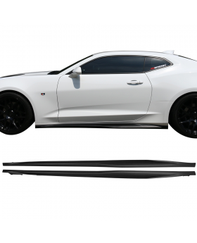 2016-2019 Chevrolet Camaro ZL1 Style Side Skirts ABS Pair Right Left - BLS-CC16ZL1-A-MB