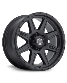 Deegan 38 PRO 2 Black 18X9 with 5X5.00 Bolt Pattern 4.500 Back Space Matte Black Mickey Thompson - 90000024739