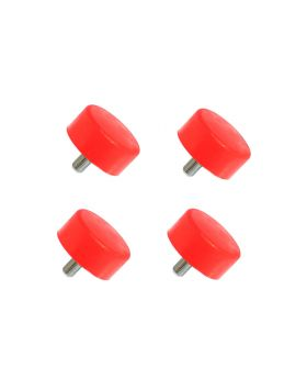 1996-2002 Toyota Tacoma Base Front Bump Stop Kit Red Prothane - 18-1301