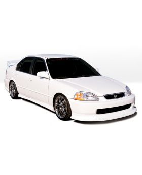 1996-1998 Honda Civic 2dr Touring Style Wings West Body Kit - WW-890218