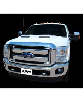 2011-2014 Ford Superduty F-250 F-350 Power Functional Ram Air Hood