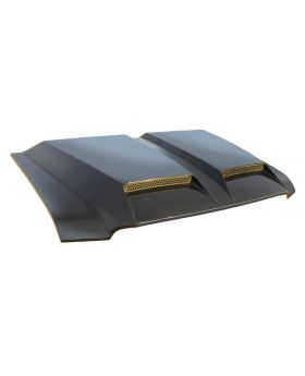 1999-2007 Ford SuperDuty Ram Air Fiberglass Hood - B-55250