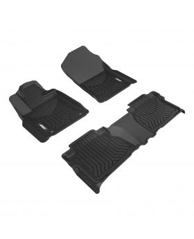 2007-2013 Toyota Tundra Aries Black StyleGuard XD Floor Liners Limited/Crew Cab Pickup - 2806009