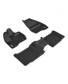 2011-2014 Ford Explorer Aries Black StyleGuard XD Floor Liners XLT/Bucket Seats Only - 2807609