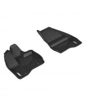 2013-2014 Ford Explorer Aries Black StyleGuard XD Floor Liners Base/Limited/SPORT/XLT - FR03611809