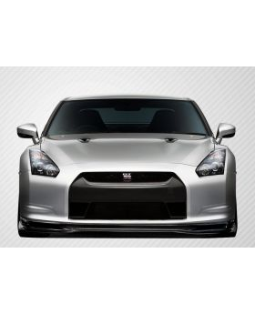 2009-2011 Nissan GT-R R35 Carbon Fiber Eros Version 5 Front Lip Under Spoiler Ai