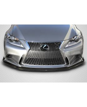 2014-2016 Lexus IS Series IS350 IS250 Carbon Creations AM Design Front Lip Spoiler 1PC (F Sport Models only) - 112998