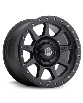 Deegan 38 PRO 4 Black 17X9 with 5X4.50 Bolt Pattern 5.394 Back Space Matte Black Mickey Thompson - 90000024780
