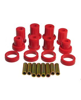 1984-1986 Ford Mustang SVO Rear Control Arm Bushing Kit Red Prothane - 6-303