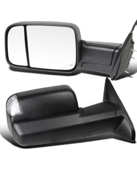 2009-2012 Dodge Ram 1500/2500/3500 Power Towing Mirrors  - RMX-RAM09-AT-FS