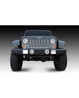 Wrangler Grille 07-17 Jeep Wrangler Stainless Chrome Sport Series T-REX Grilles - 44481