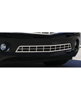 Camaro Bumper Grille 10-13 Chevrolet Camaro RS Stainless Polished T-REX Grilles - 67027