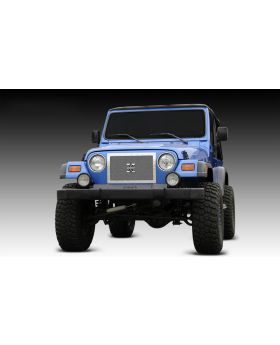 Wrangler Grille 97-06 Jeep Wrangler Stainless Polished X Metal Series T-REX Grilles - 6714900